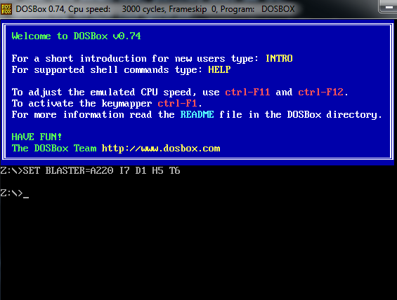 How To Use DOSBox