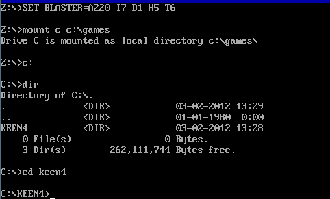How To Use DOSBox