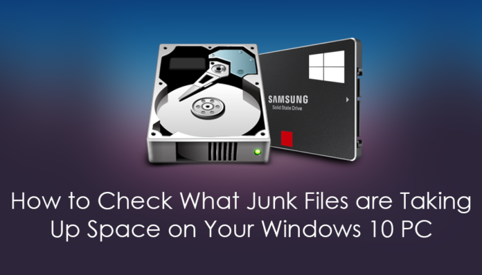 Junk files taking up space