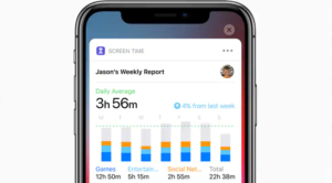 Monitor Screen Time On iOS