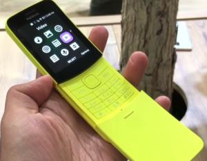Nokia 8110 4G-Smartphones With WhatsApp Support