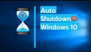 Schedule Windows 10 Shutdown