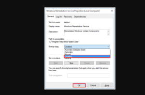 Turn Off Windows Setup Remediations Service