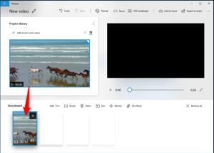 Windows 10 Hidden Video Editor
