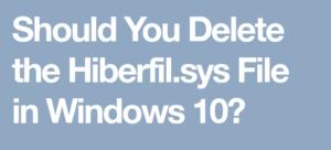 hiberfil file