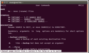 rename files On Linux