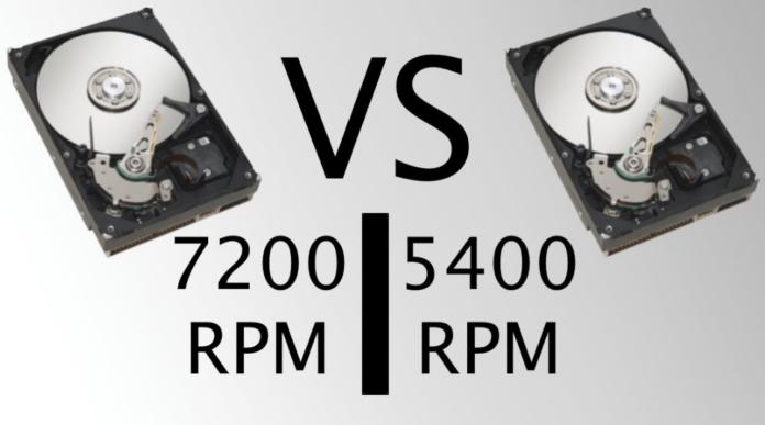 5400 vs 7200 RPM Hard Drive