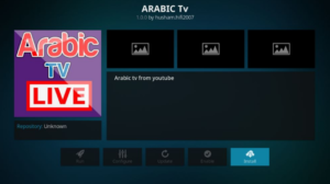 Arabic Channels Kodi