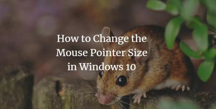 Change Mouse Pointer Size