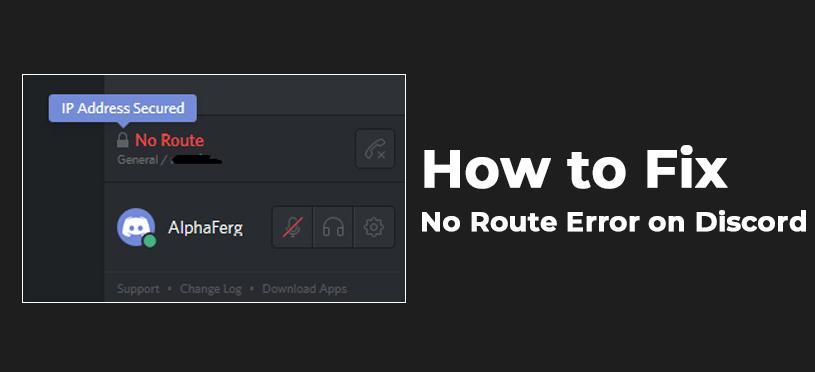Discord No Route Error