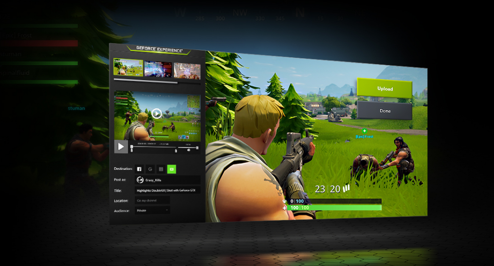 GeForce Experience On Windows 10
