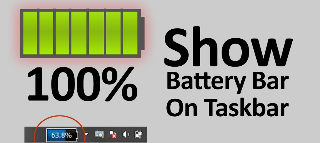 Get The Battery Percentage To Show