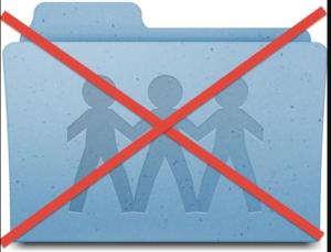 Stop Sharing Network Folder