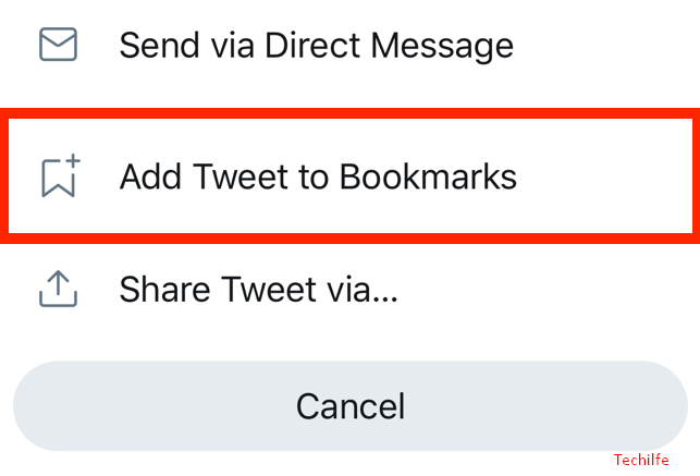 Twitter Bookmarks in Desktop