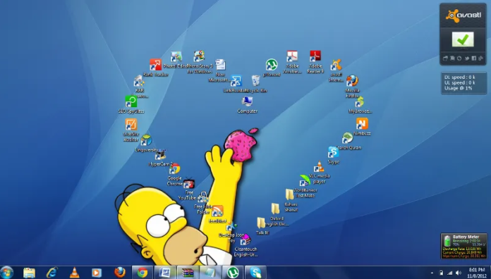 Windows 10 Desktop Icon Layout