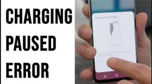 Wireless Charging Paused Error