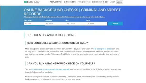 amazon background check