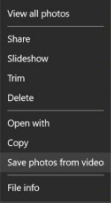 capture still image from video windows 10