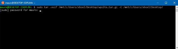extract tar gz windows
