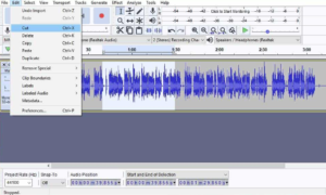 how to edit mp3 on windows 10