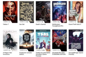 What Games Are Available On Xbox Game Pass PC?