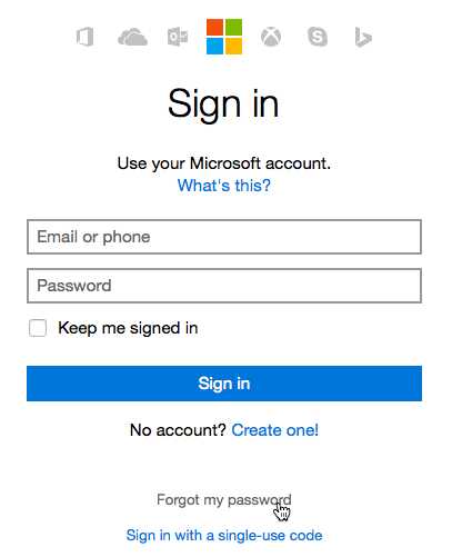 locked out of microsoft account