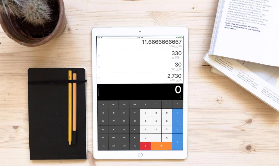 Calculator Apps For iPad