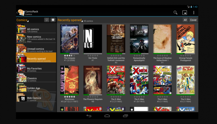 ComicRack-Comic Book Reader Apps