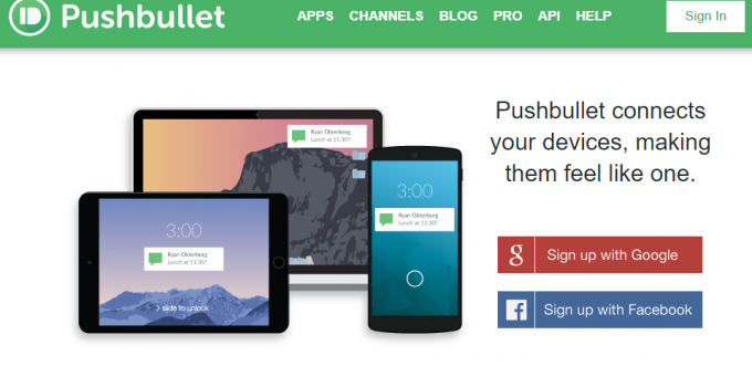 Pushbullet Alternatives