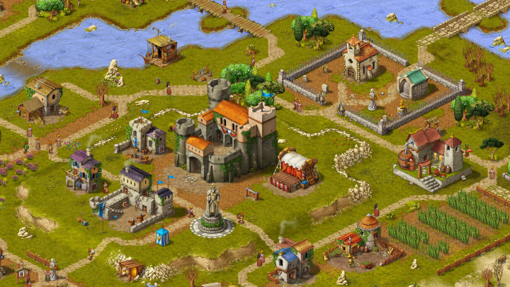 Townsmen-City Building Games