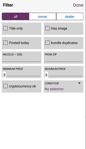 best craigslist app for iphone