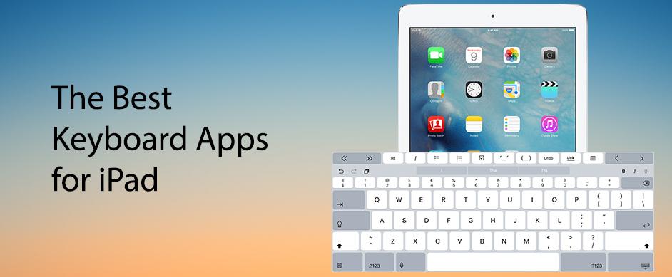 best iPad Keyboard apps