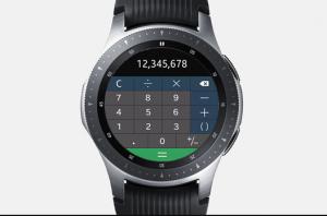 calculator-Samsung Galaxy Watch Apps