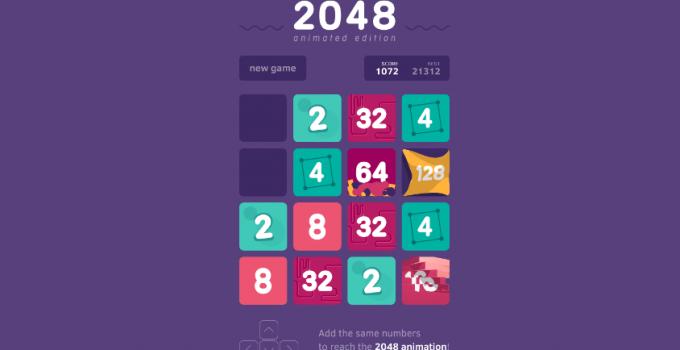games like 2048