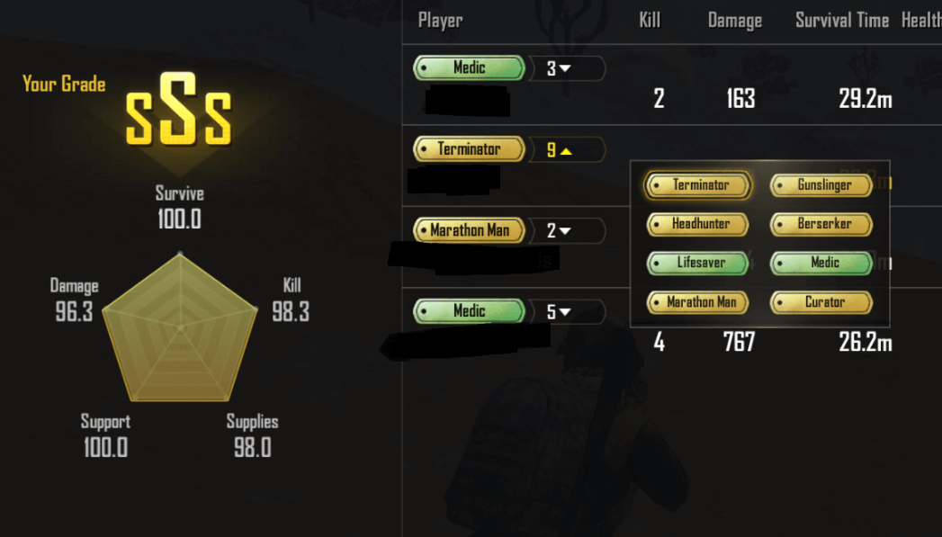 List Of PUBG Mobile Medals