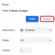 print gmail without header