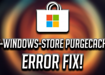 Fix ms windows store purgecaches