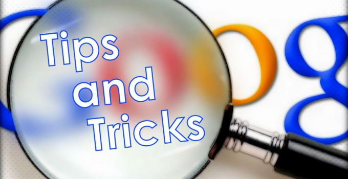 Google Search Tricks & Tips