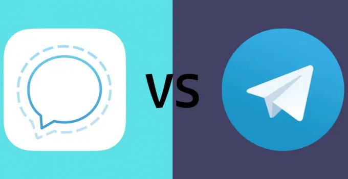 Signal vs Telegram