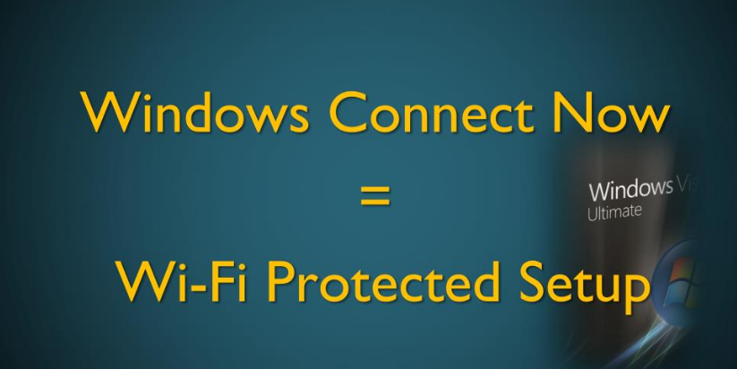 Turn Off Windows Connect Now Services