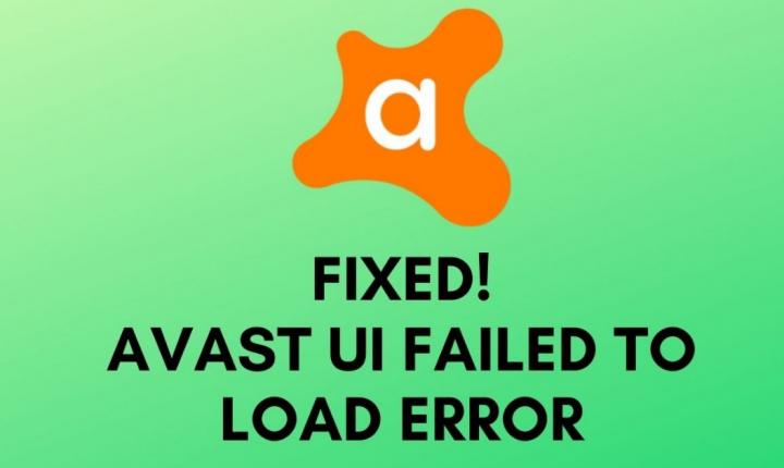 UI Failed To Load Error