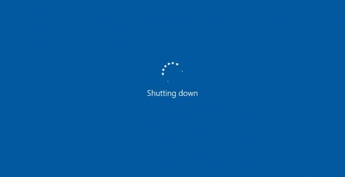 Windows 10 Won't Shut Down Properly