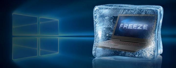 Frozen Display On Windows 10