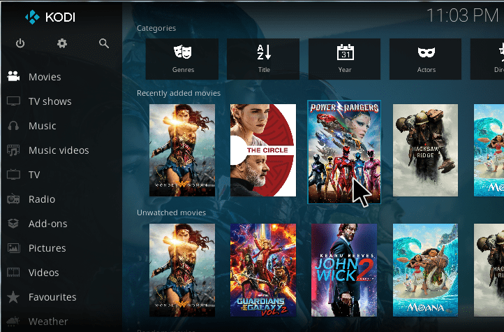 Update Your Kodi Library