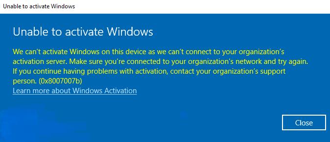 Windows Error 0x8007007b