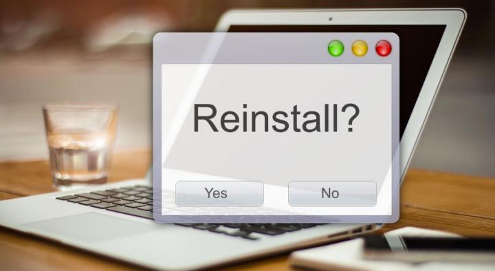 reinstall