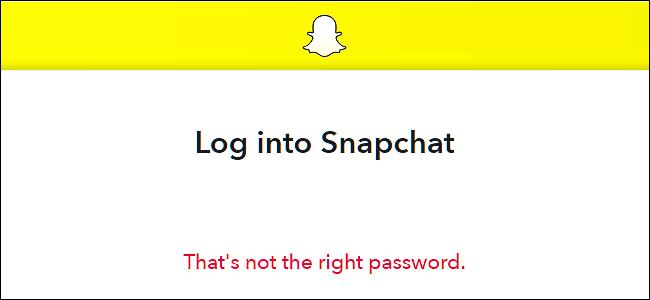 Get Snapchat Password