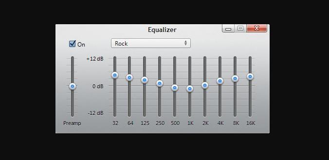 Adjust Equalizer Frequencies