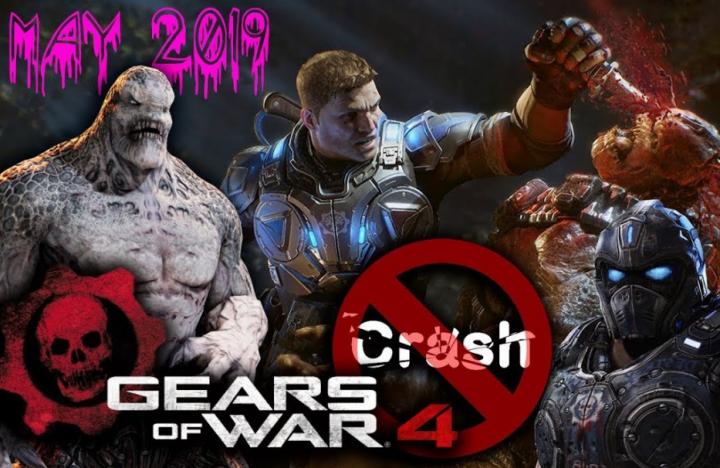 Gears of War 4 Crashing
