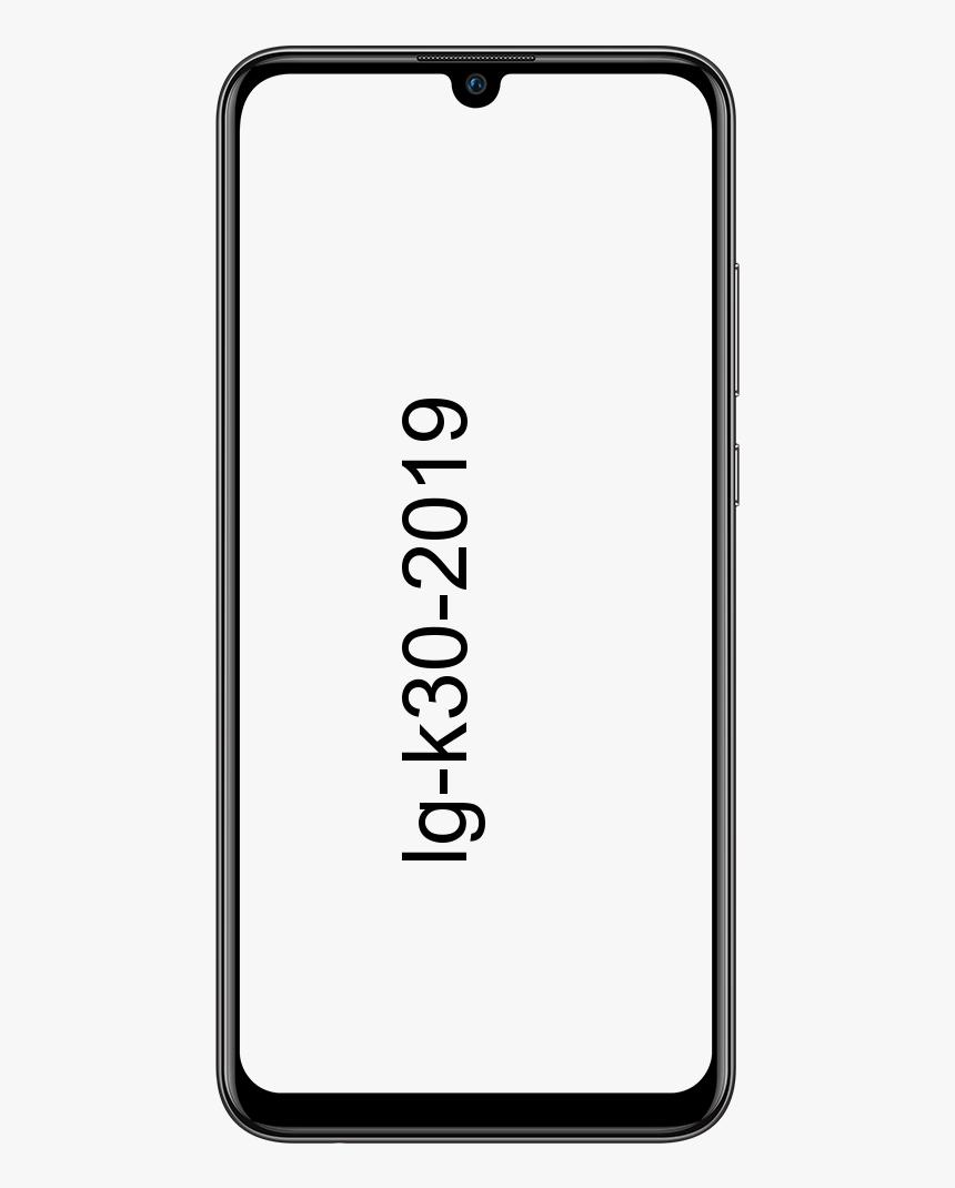 LG K30 2019